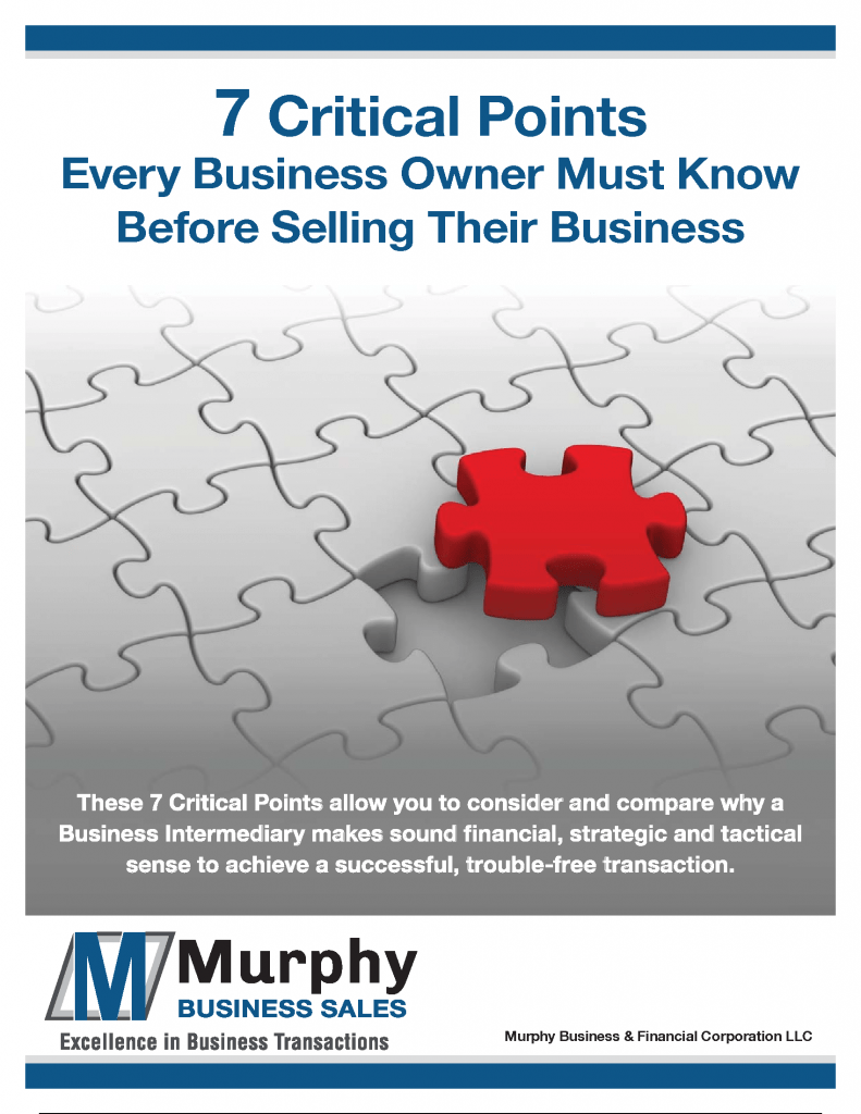 7 Critical Things Every Business Oner Should Know Before Selling Their Business